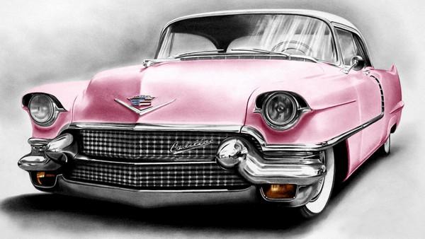Elvis Presley ve Pembe Cadillac